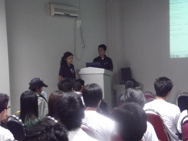 Mozilla session at Barcamp Mandalay