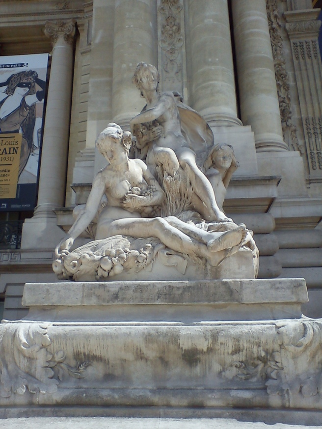 Statue in Europe (Paris)
