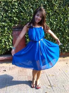 Classy Blue dress