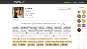 Long Weekend Toy for Programmer [CoderByte] | Ahkeno's Blog