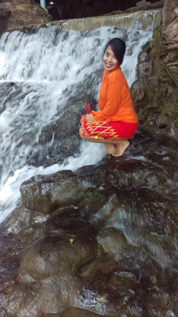 pwe gauk waterfall at Pyin Oo Lwin